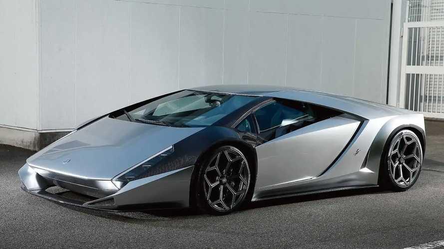 Lamborghini Kode 0 By Ken Okuyama