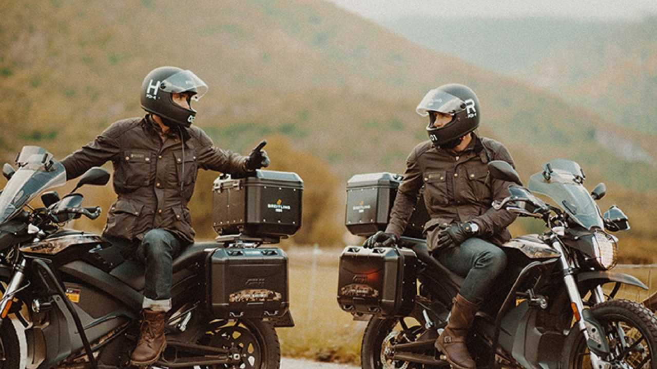 Twins Take Zero Electric Motorcycles On 1,500 Mile journey