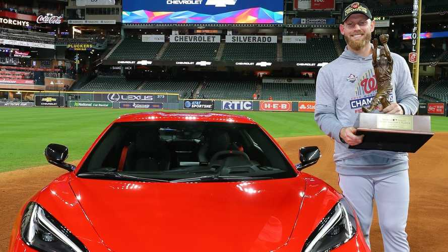 2020 Chevy Corvette Awarded To World Series MVP Stephen Strasburg