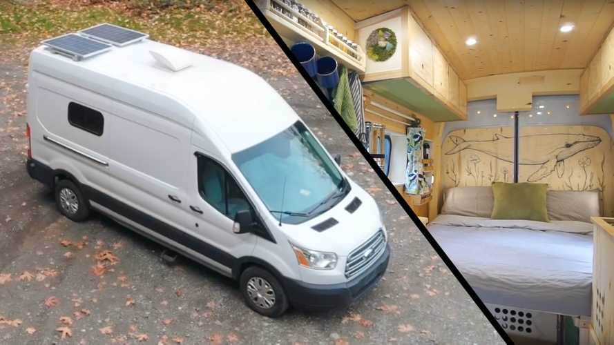 Couple's Homemade Camper Van Is Low Tech In The Best Way Possible