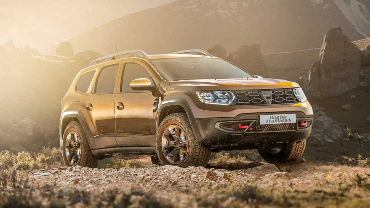 Dacia Duster Trailhawk rendering