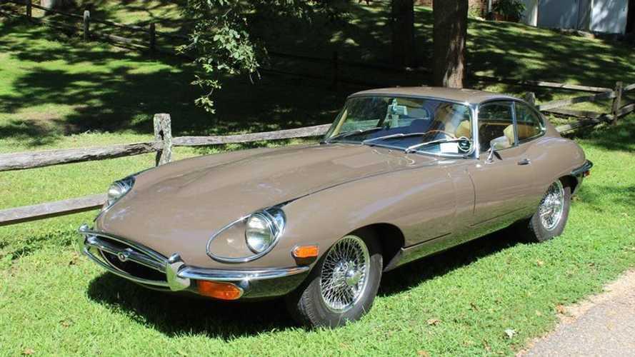 1970 Jaguar E-Type Exudes Class