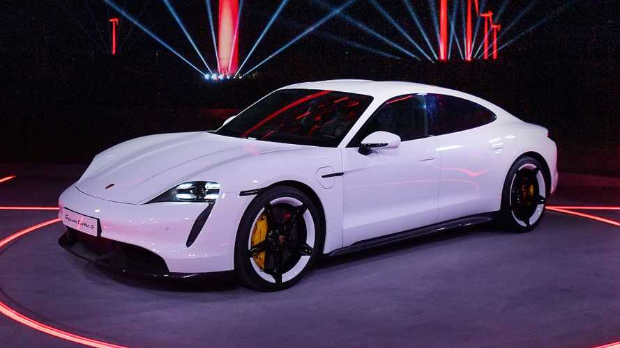 2020 Porsche Taycan debuts as an all-electric super saloon