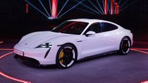 2020 porsche taycan debut official