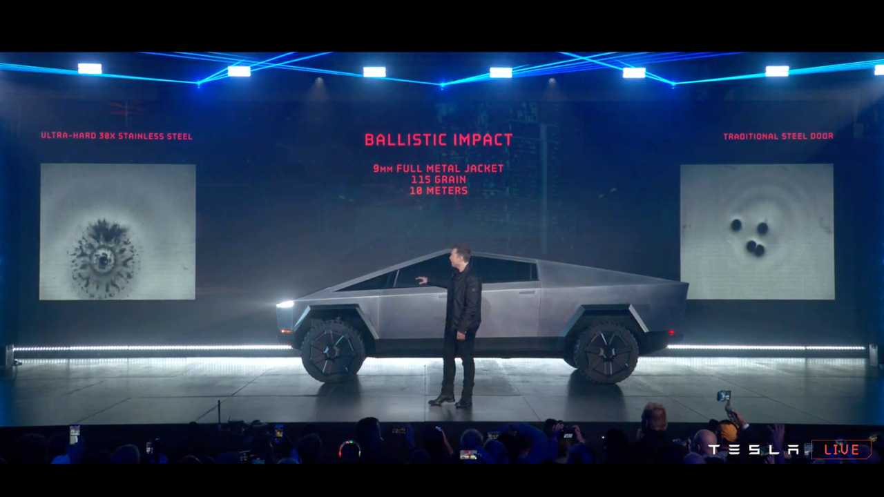 Tesla Cybertruck Reveal