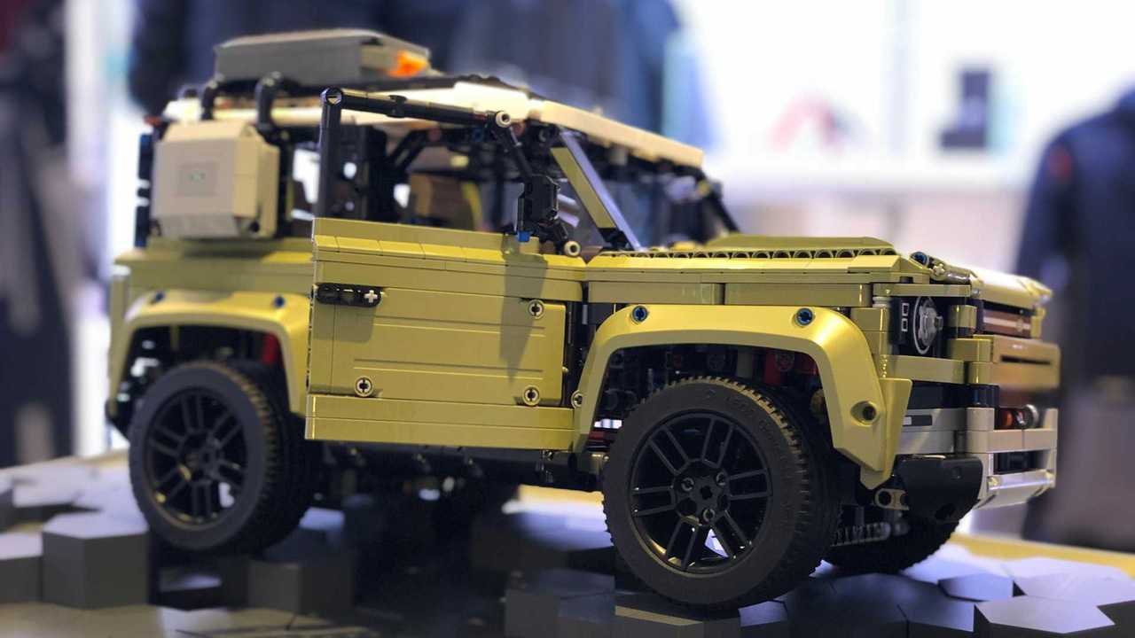 Land Rover Defender de Lego Technic