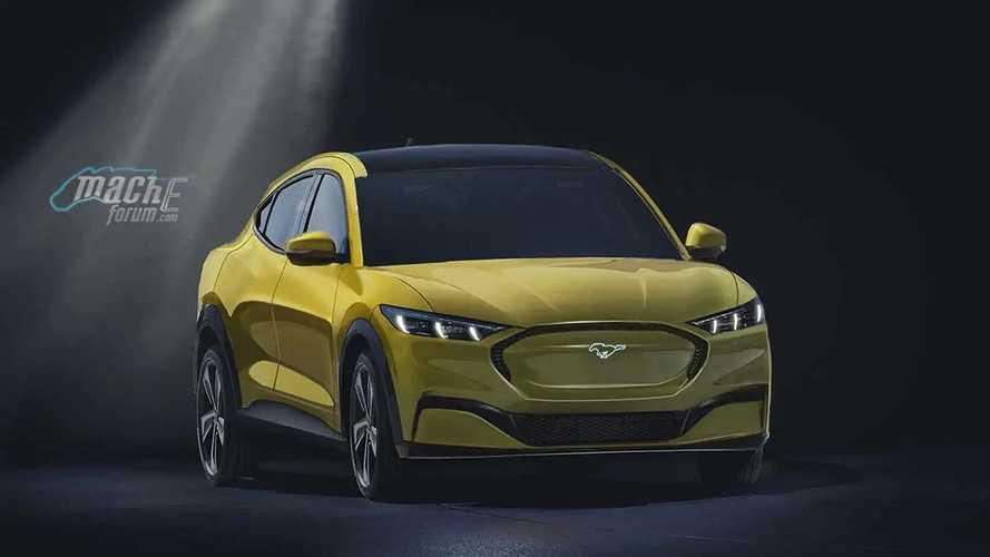 Ford Mustang-inspired EV renderings