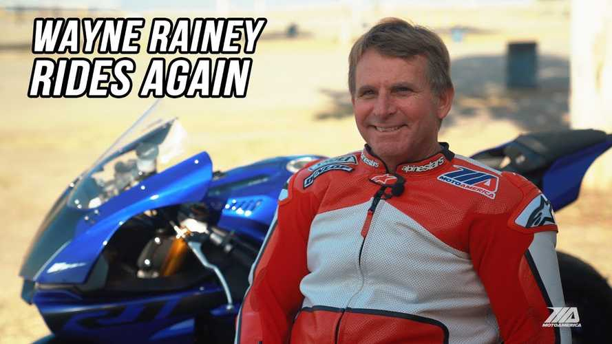 Racing Legend Wayne Rainey Rides For First Time In 26 Years