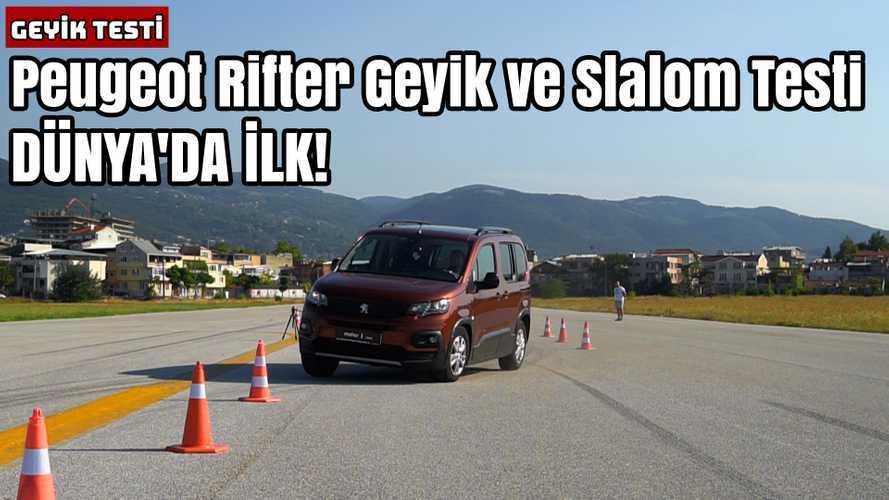 Peugeot Rifter | Geyik Testi | Dünyada İlk!