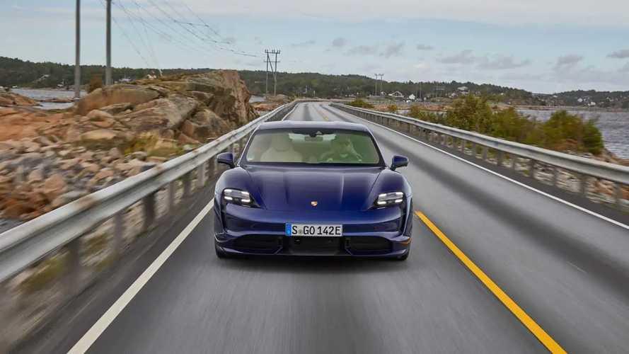 Porsche Taycan Euro Trip
