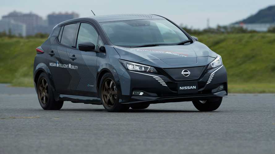 Nissan Leaf e+ with dual electric motors and all-wheel drive