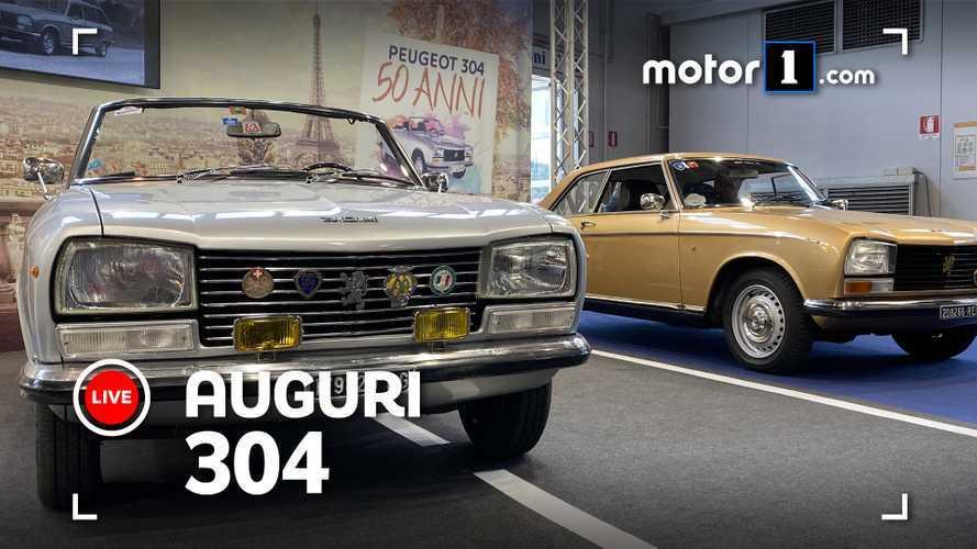 Peugeot 304, ad Auto e Moto d'Epoca si festeggiano i 50 anni