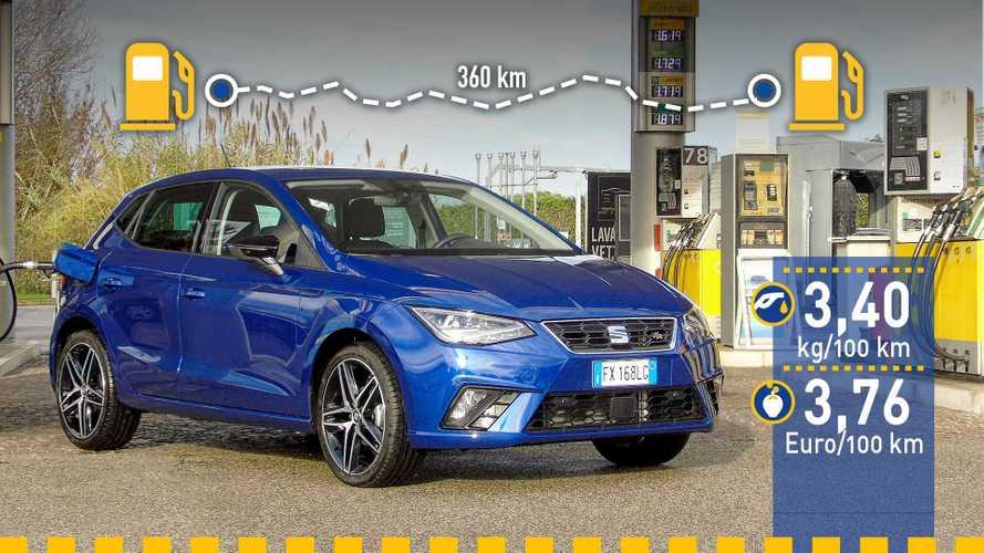 Tatsächlicher Verbrauch: Seat Ibiza 1.0 TGI im Test