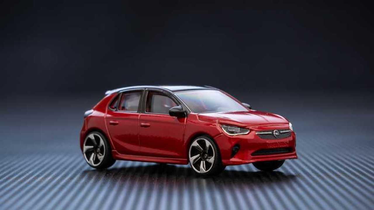 Opel Corsa scale model