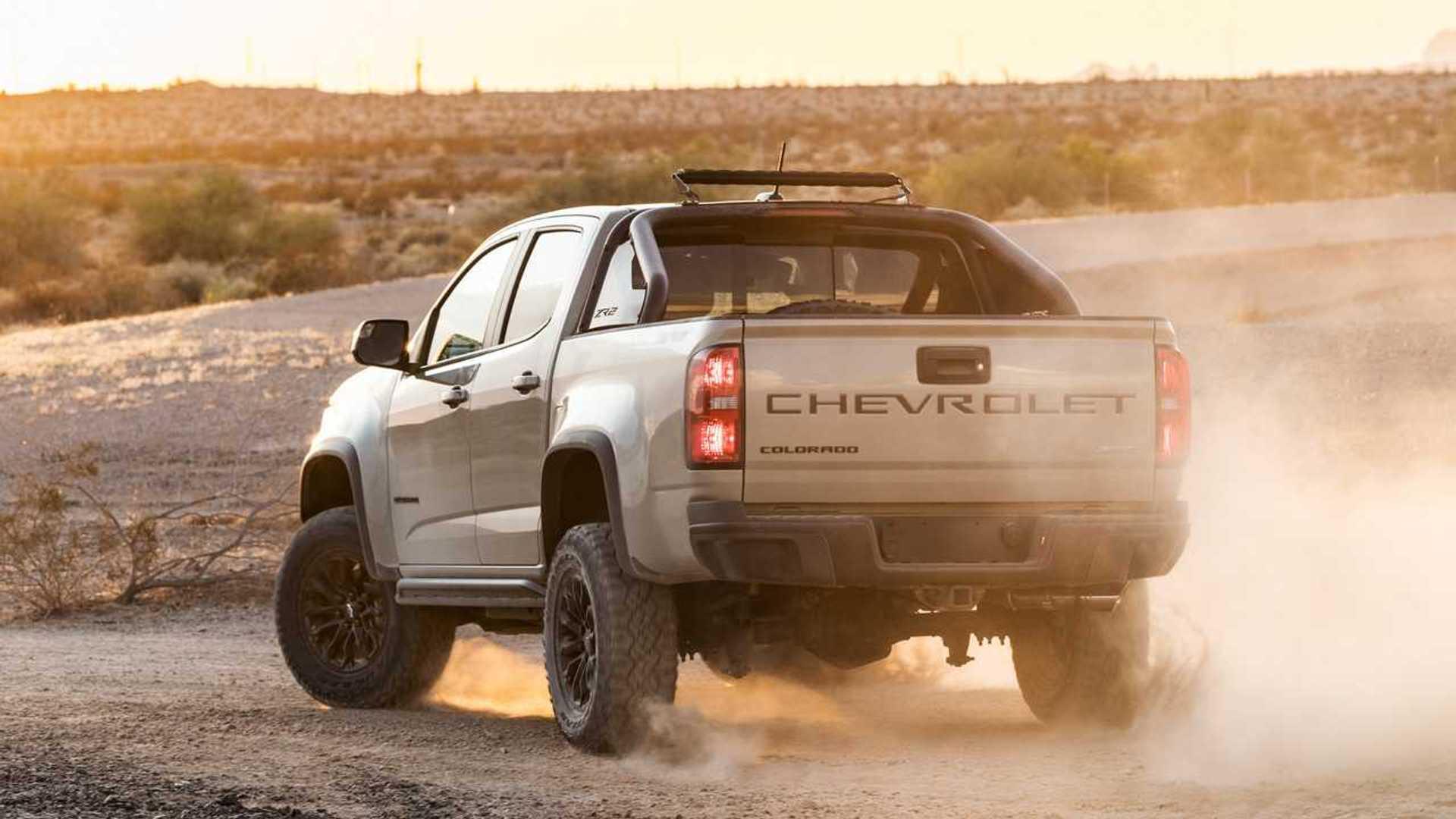 2021 chevrolet colorado debuts with more distinct looks