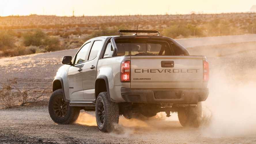 2021 Chevy Colorado Loses Base Trim, Starting Price Rises By $4,000