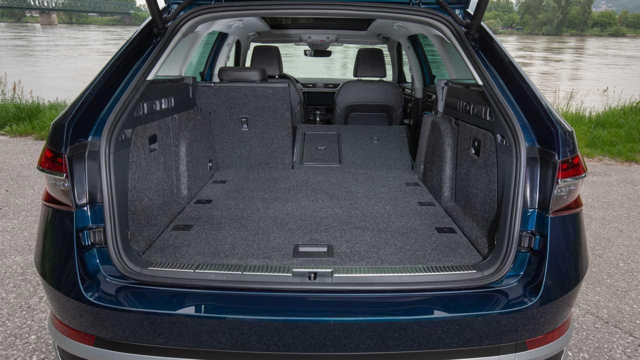 Diese Autos bieten den größten Kofferraum