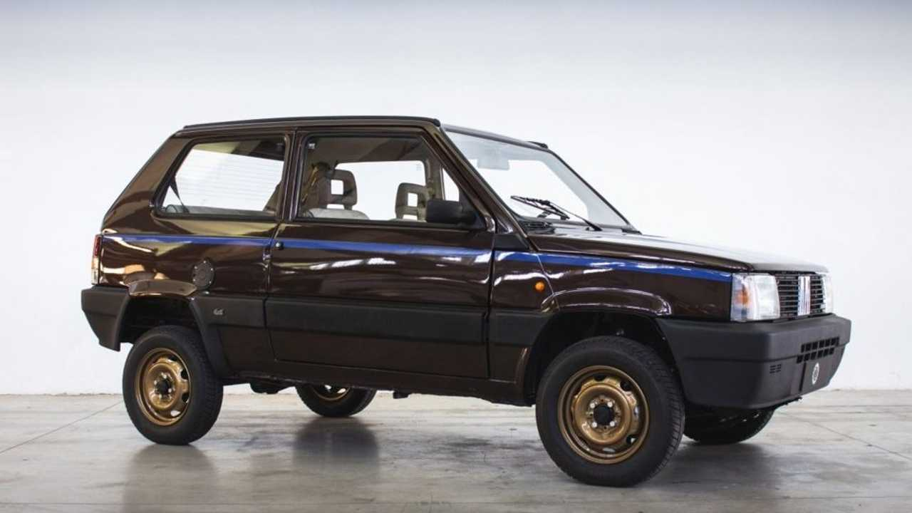 Fiat Panda 4x4 eléctrico de Garage Italia