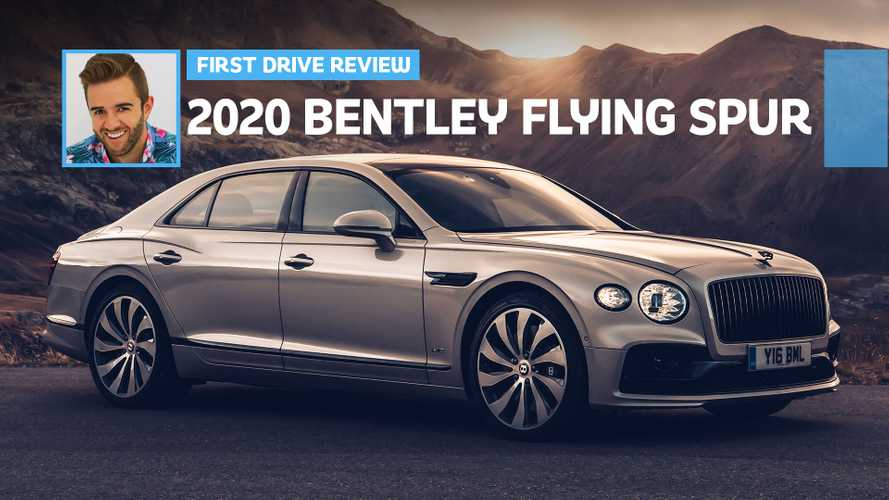 2020 Bentley Flying Spur First Drive: Pinky-Up Powerhouse