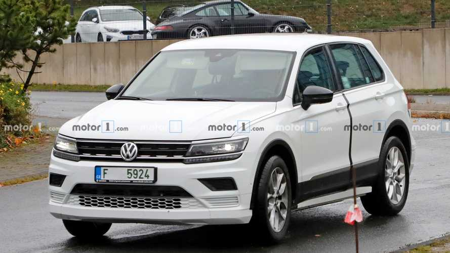Skoda EV test mule spy photos