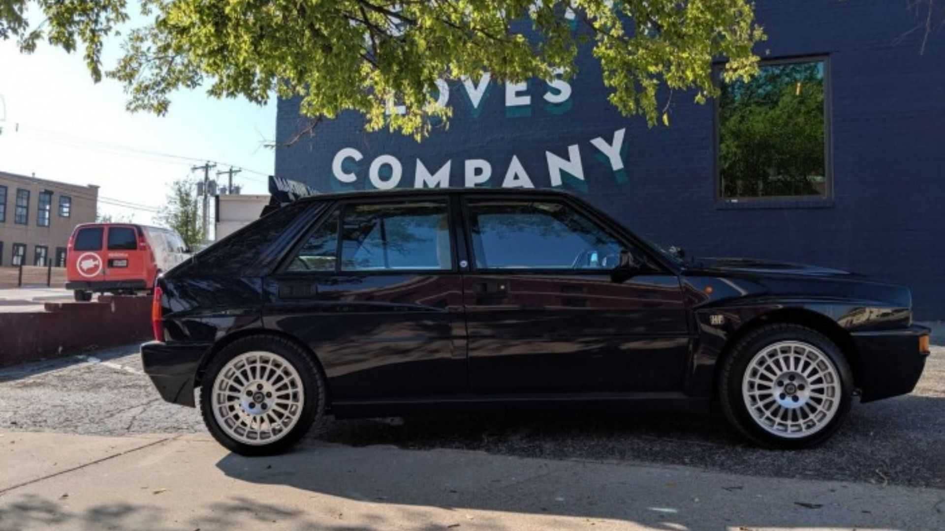 "[""Bid On This 1994 Lancia Delta Integrale Evoluzione II Soon""]"