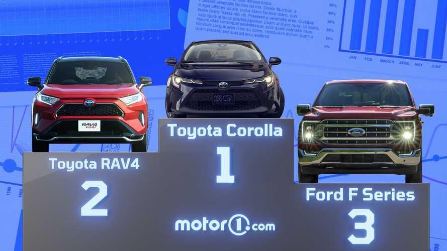Los 10 coches más vendidos del mundo en 2020