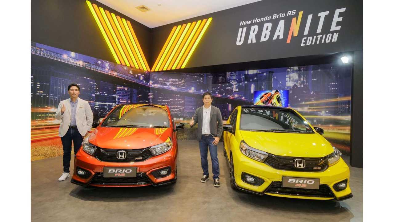 New Honda Brio RS Urbanite Edition