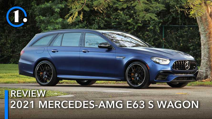 2021 Mercedes-AMG E63 Wagon Review: Fast Lane For Five
