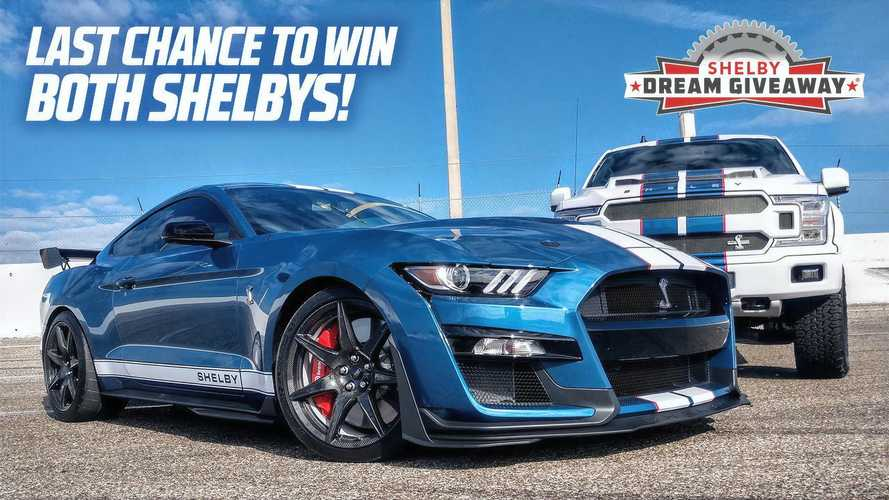 Just 1 Day Left To Enter To Win Shelby GT500, F-150 Plus $50,000 Cash