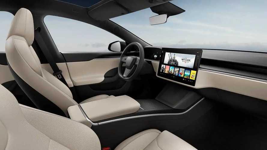 Tesla Model S 2021 - interior
