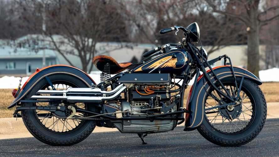 Yes, Indian Made An Inline-Four Motorcycle Engine