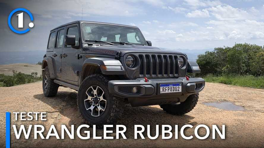 Teste: Jeep Wrangler Rubicon evolui, mas continua bicho do mato