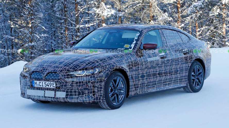 BMW i4 Drops Some Camo In Latest Spy Shots