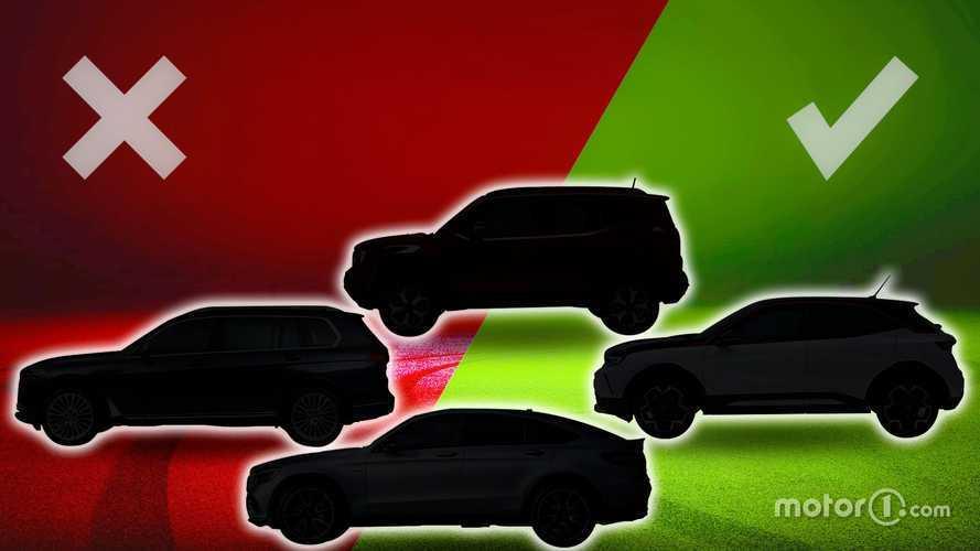 Tutti i tipi di SUV: ecco perché sono diversi dai fuoristrada