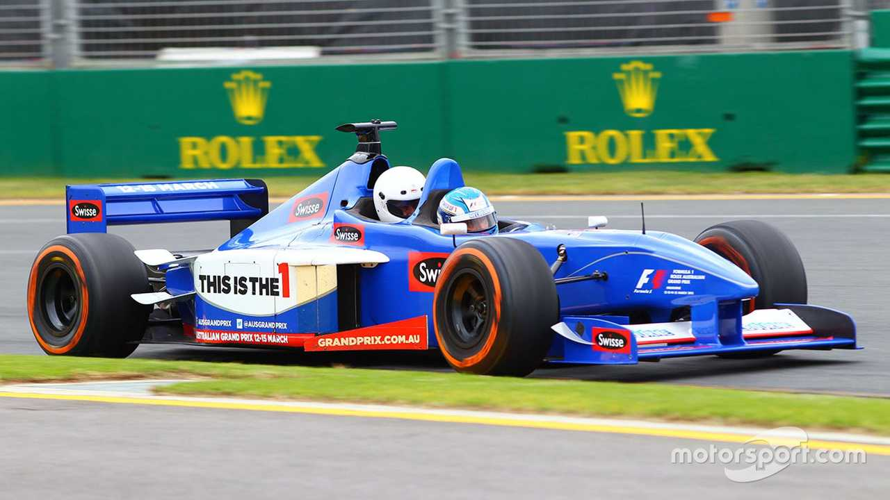 Two seater F1 at Australian GP 2015
