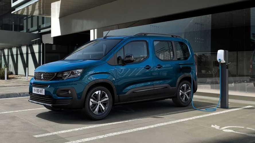 Sucessor do Partner, utilitário Peugeot Rifter estreia em versão 100% elétrica