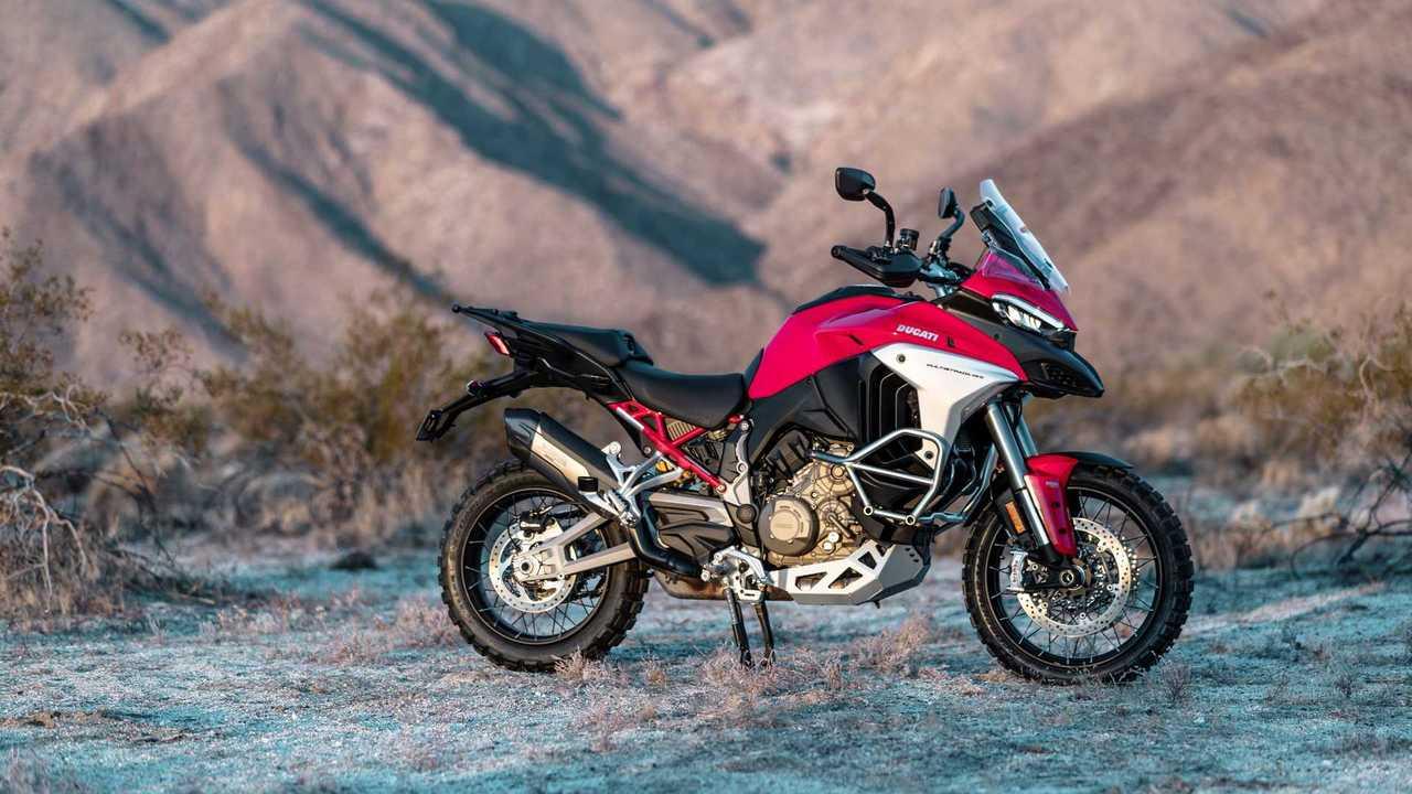 2021 Ducati Multistrada V4 S - Off-Road