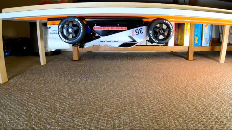 RC Car With Murray-Style Fan Tech Can Drive Upside Down