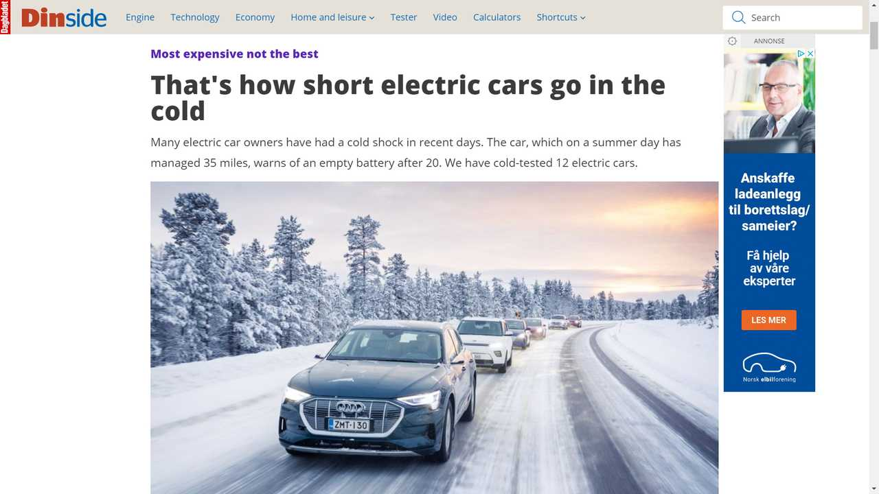 Tests Show Kia And Hyundai EVs Are The Most Efficient In Cold Weather