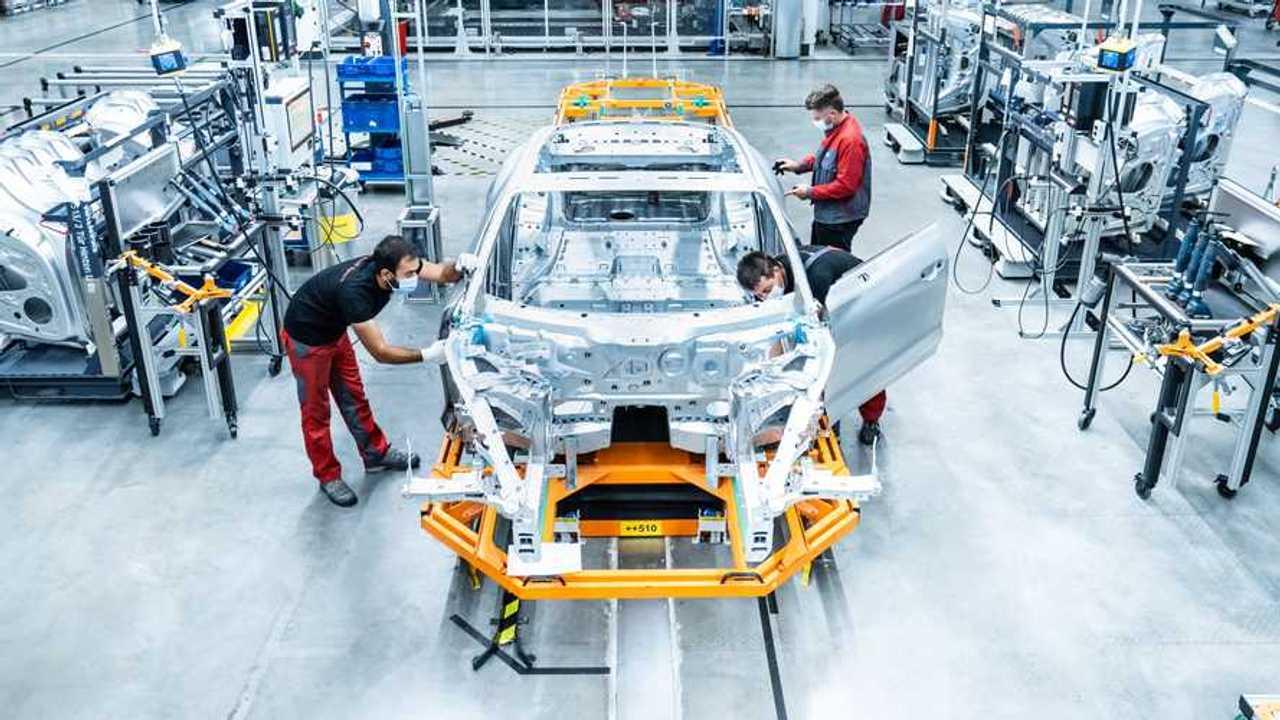 Production Audi e-tron GT