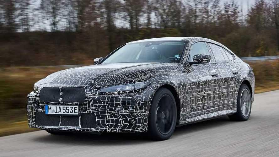 BMW i4 (offizielle Erlkönigbilder)