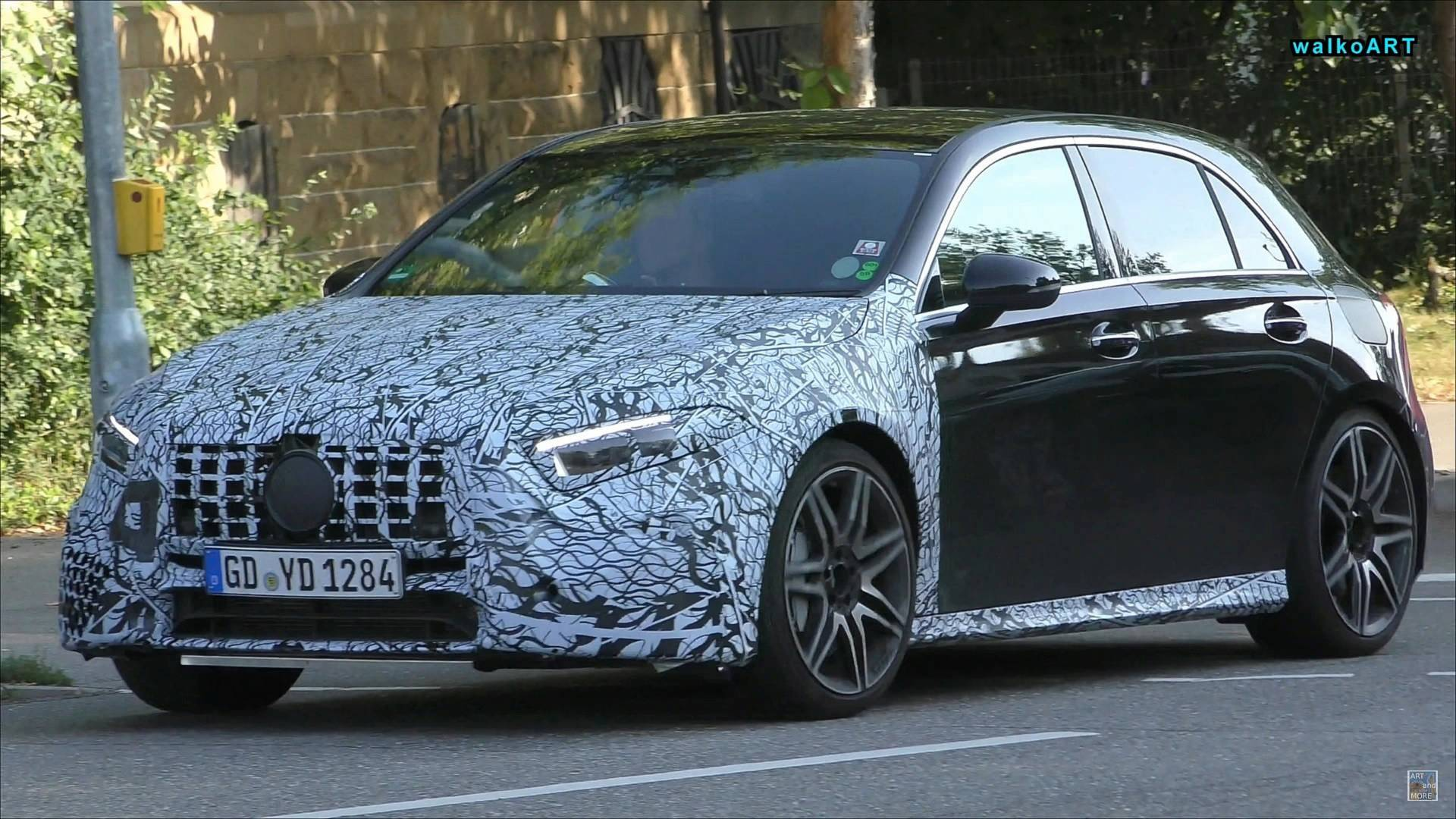 New Right Hand Drive Mercedes Amg A45 Spotted Briefly In Traffic