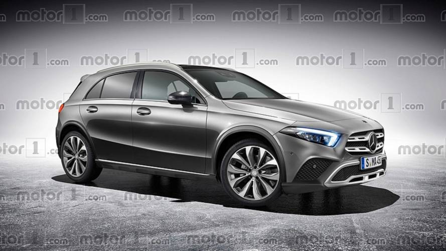 2019 Mercedes GLA Rendered Based On Recent Spy Shots