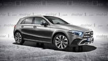 Mercedes GLA render