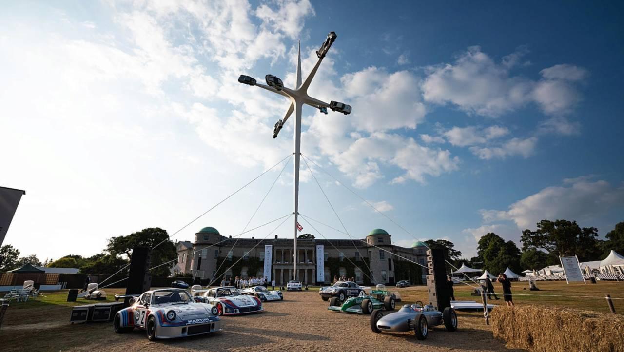 Porsche en Goodwood 2018