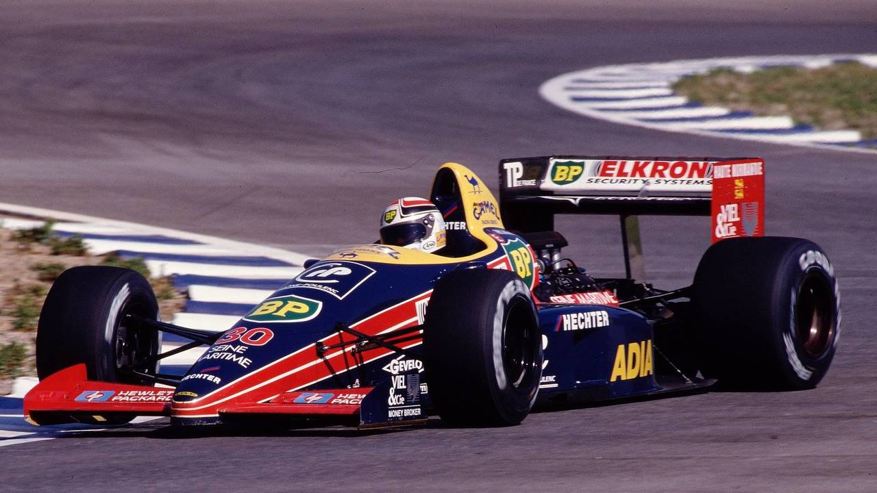 13. Philippe Alliot (109 Grandes Premios)