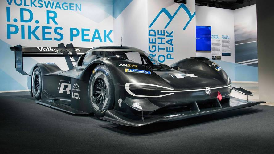 VW I.D. R Pikes Peak Is Quicker Than A Formula 1 Car