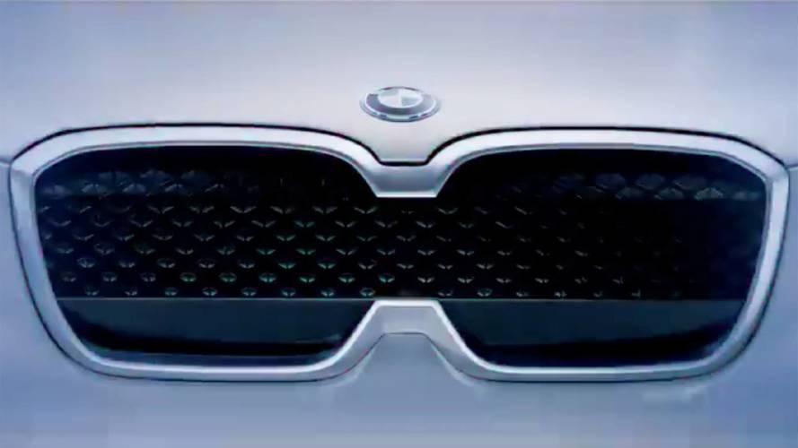BMW Concept iX3, il volto elettrico del SUV
