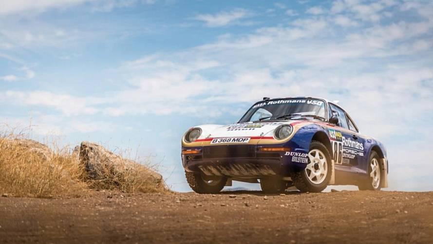 Porsche 959: París-Dakar 1985