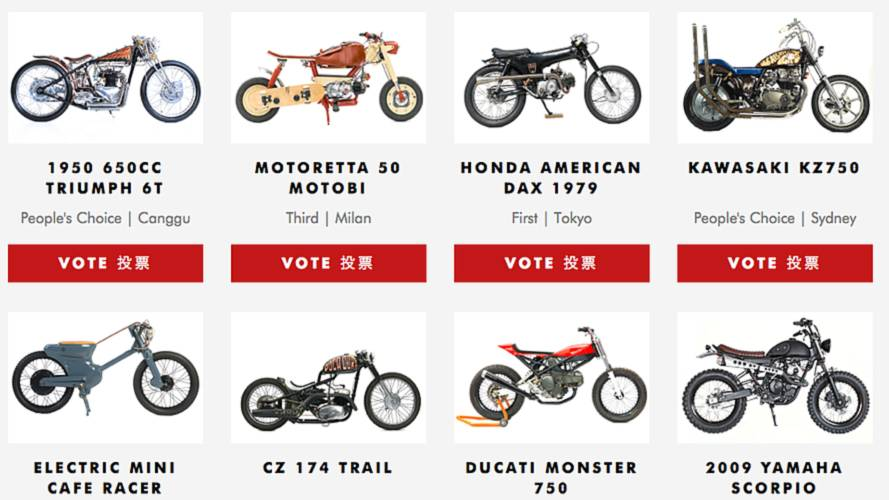 Vote Now for the Deus Bike Build Off 2015 Global Winner